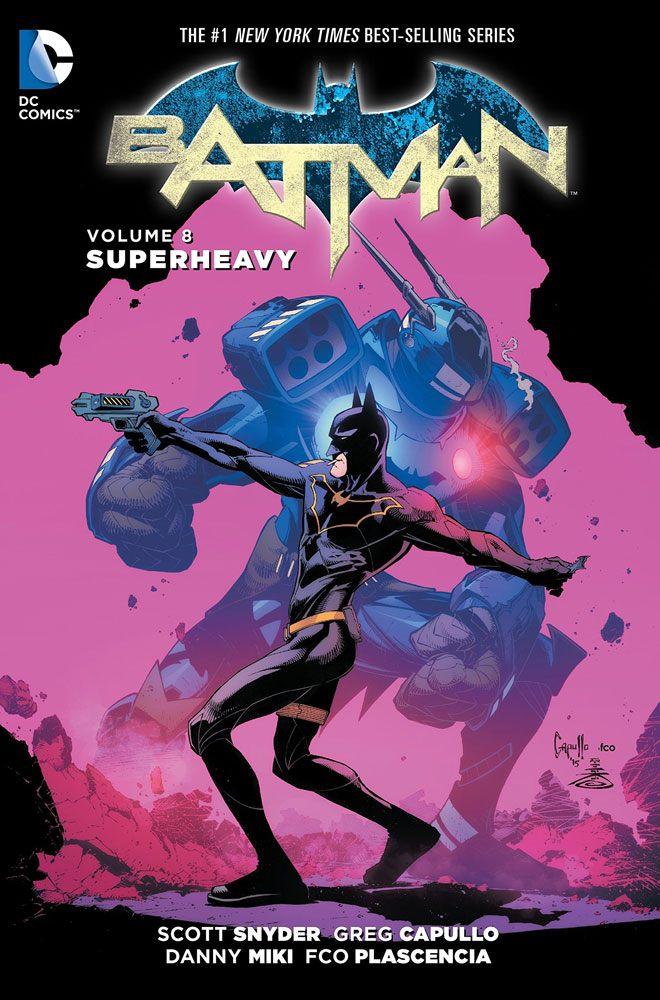 DC Comics Comic Book Batman Vol. 8 Superheavy by Scott Snyder english