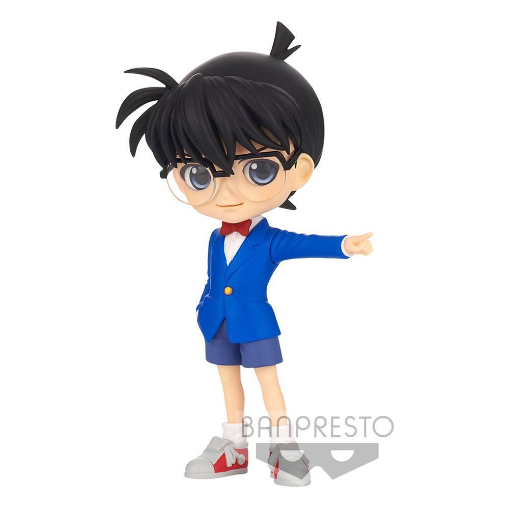 Case Closed Q Posket Mini Figure Conan Edogawa Ver. A 13 cm
