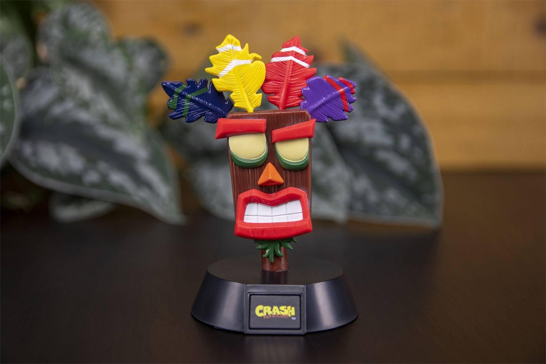 Crash Bandicoot 3D Icon Light Aku Aku 10 cm