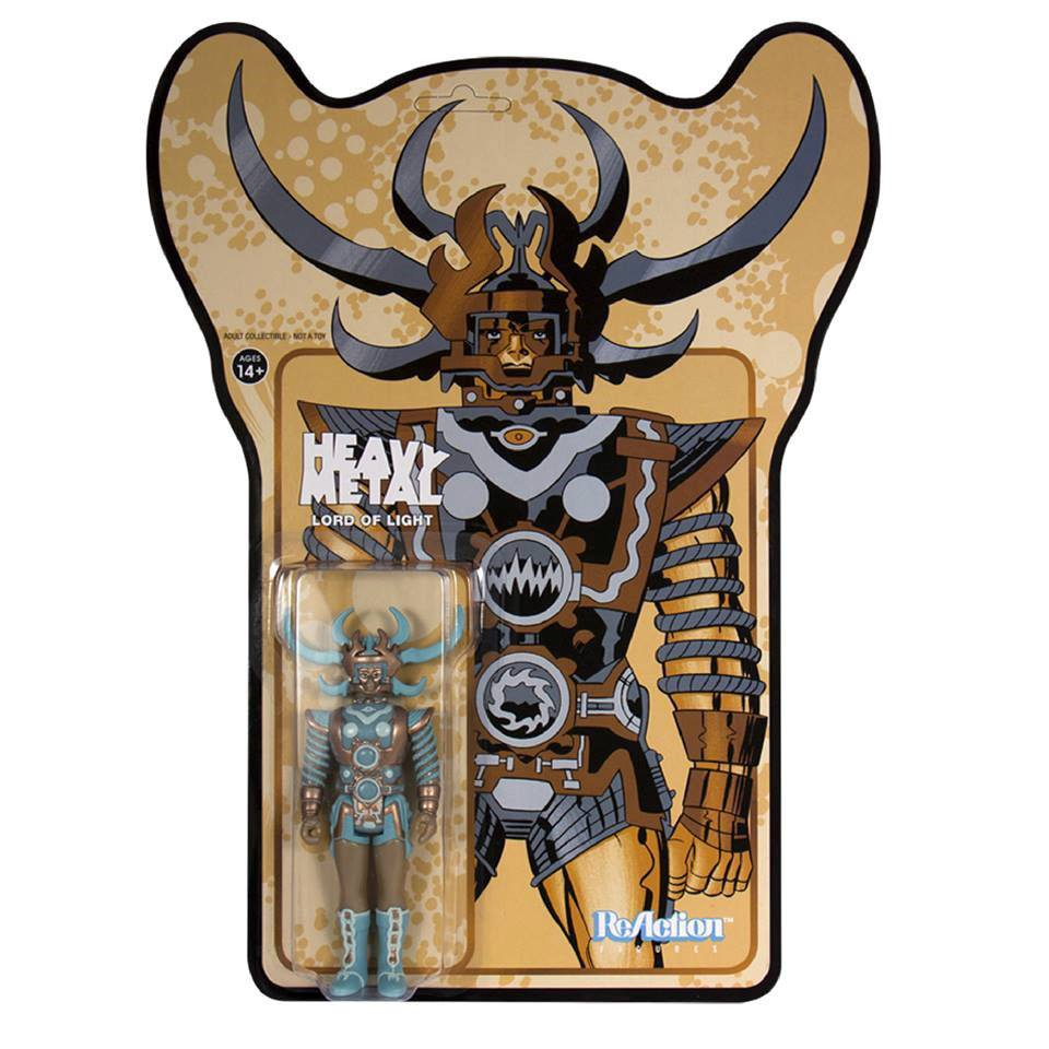 Heavy Metal ReAction Action Figure Lord of Light Metallic Color 10 cm