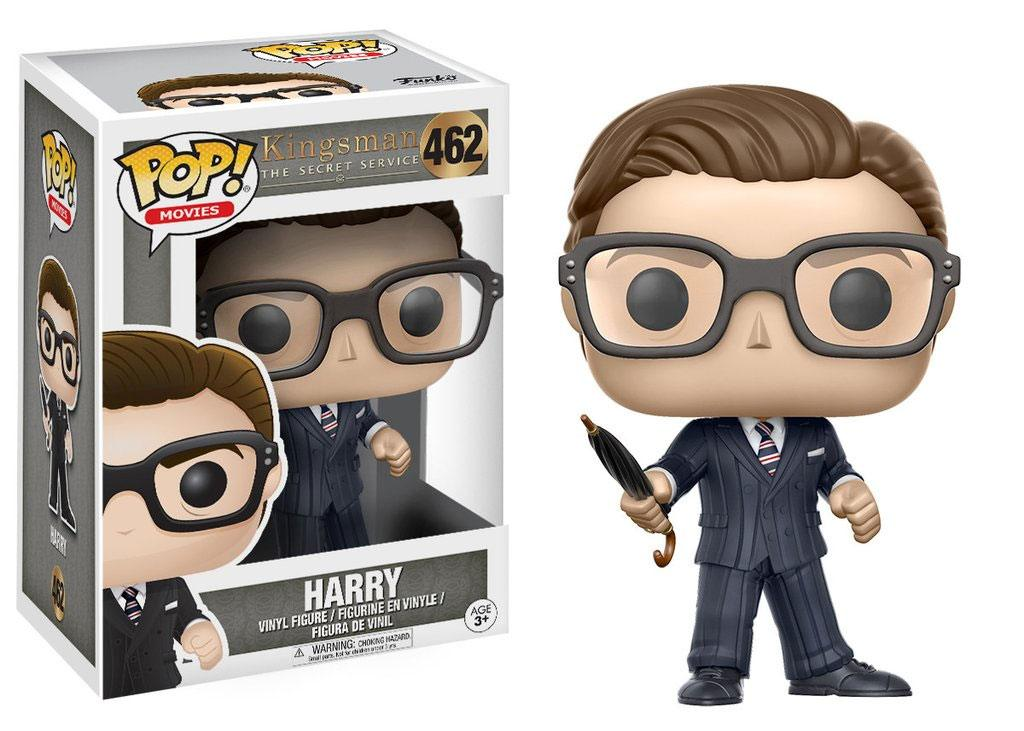 Kingsman The Secret Service POP! Movies Vinyl Figure Harry 9 cm