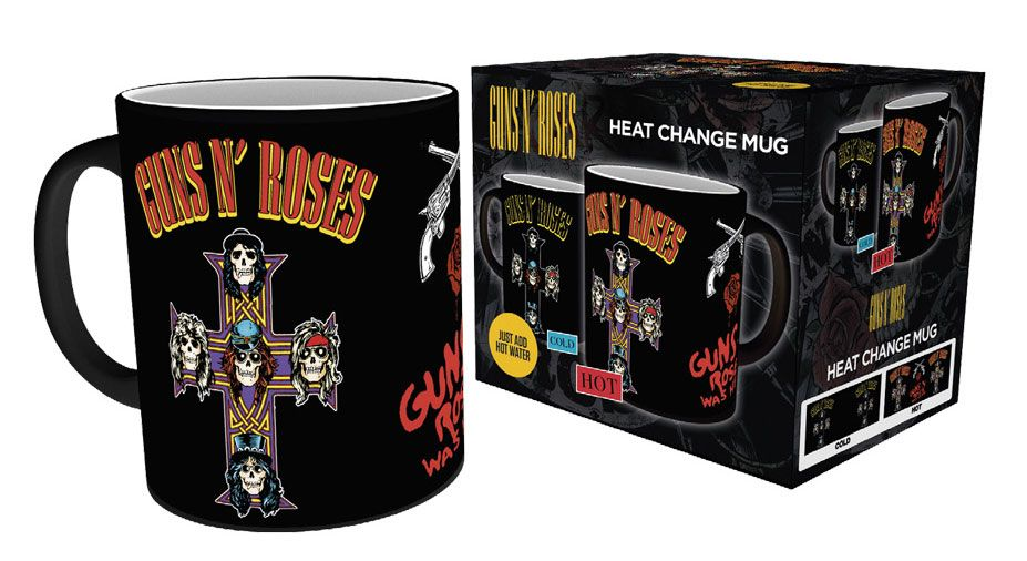 Guns n' Roses Heat Change Mug Cross