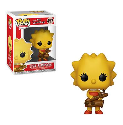Simpsons POP! TV Vinyl Figure Lisa 9 cm