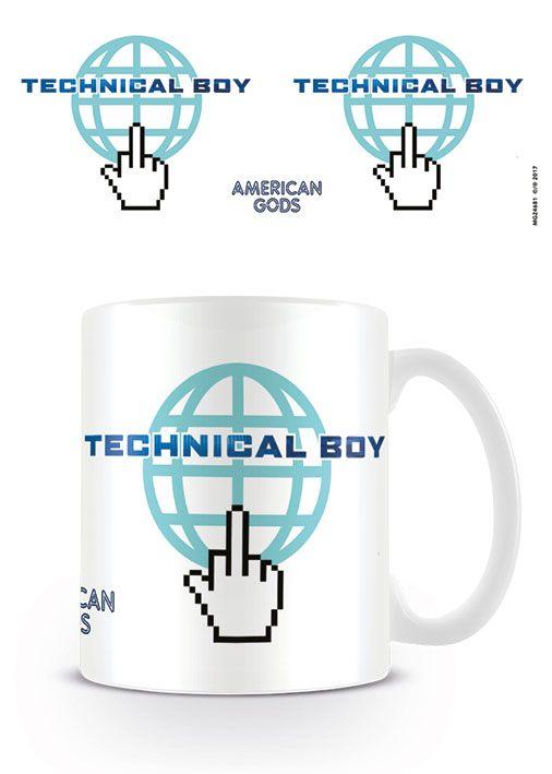 American Gods Mug Technical Boy