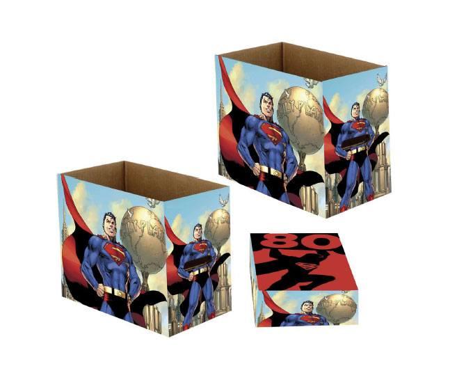 DC Comics Storage Boxes Superman 80 23 x 29 x 39 cm Case (5)