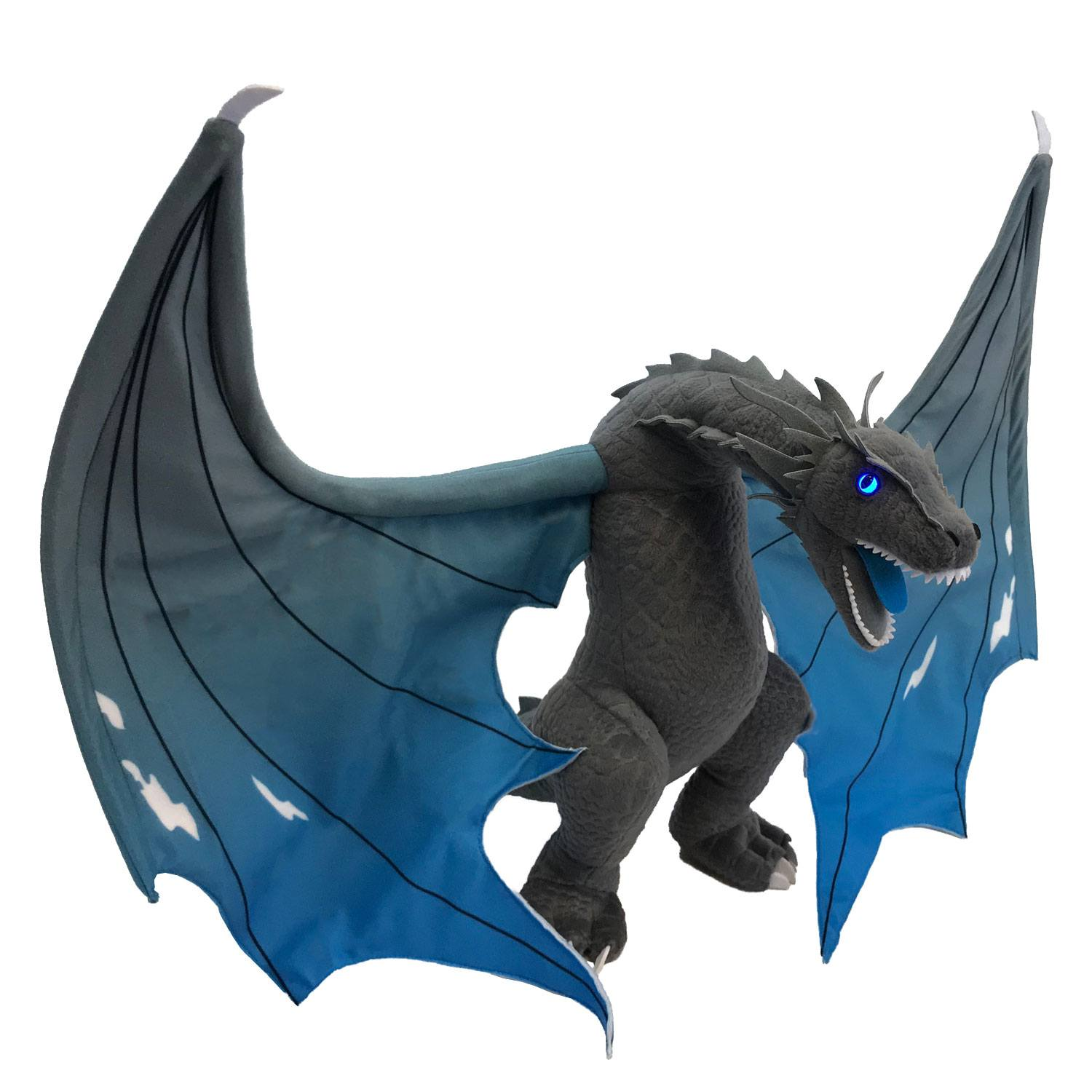 Game of Thrones Light-Up Plush Figure Icy Viserion 48 cm