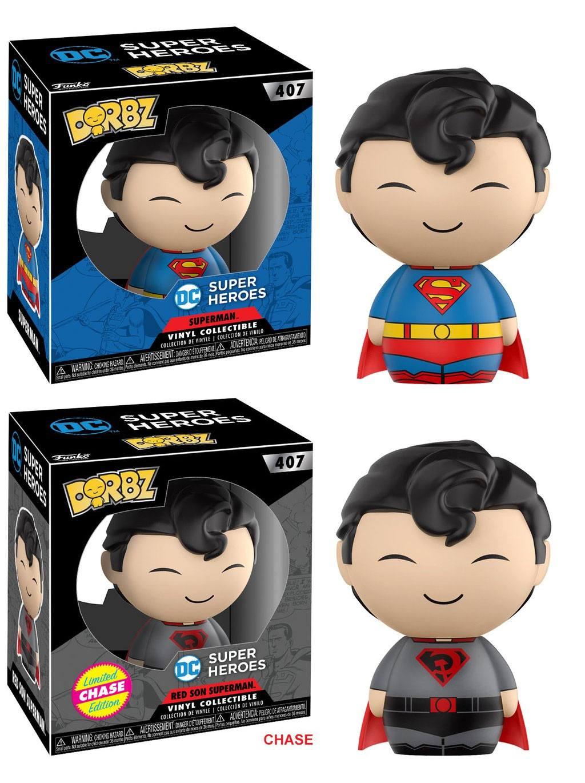 DC Comics Dorbz Vinyl Figures Superman 8 cm Assortment (6)