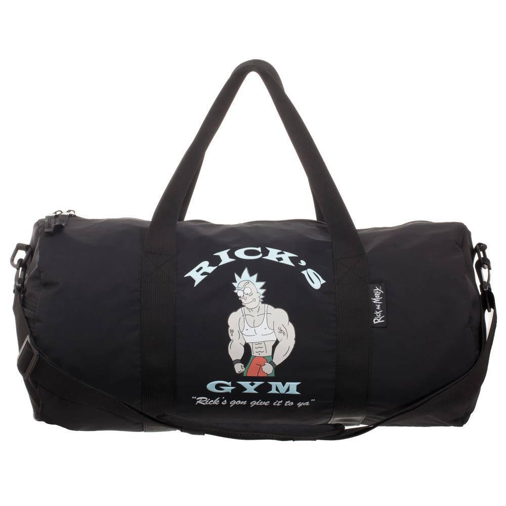 Rick & Morty Duffle Bag Ricks Gym