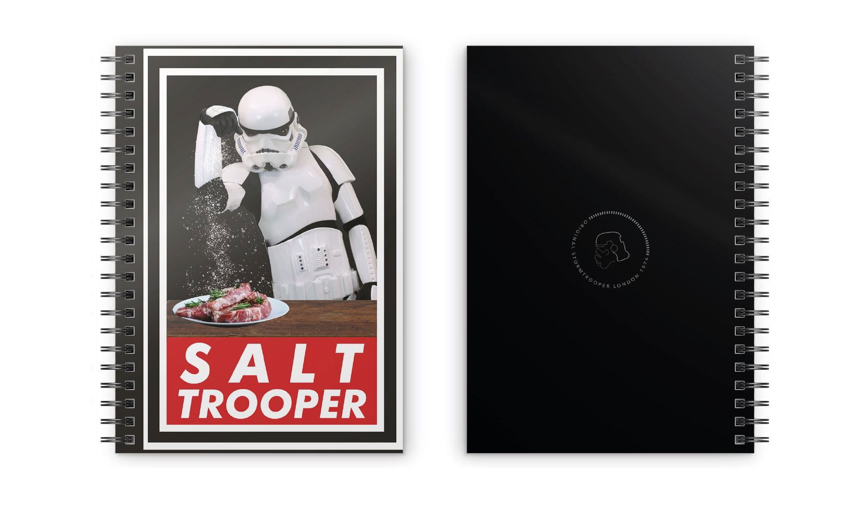 Original Stormtrooper Notebook Salt Trooper