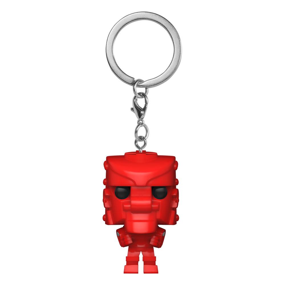 Rock 'Em Sock 'Em Robots Pocket POP! Vinyl Keychains 4 cm RD Display (12)