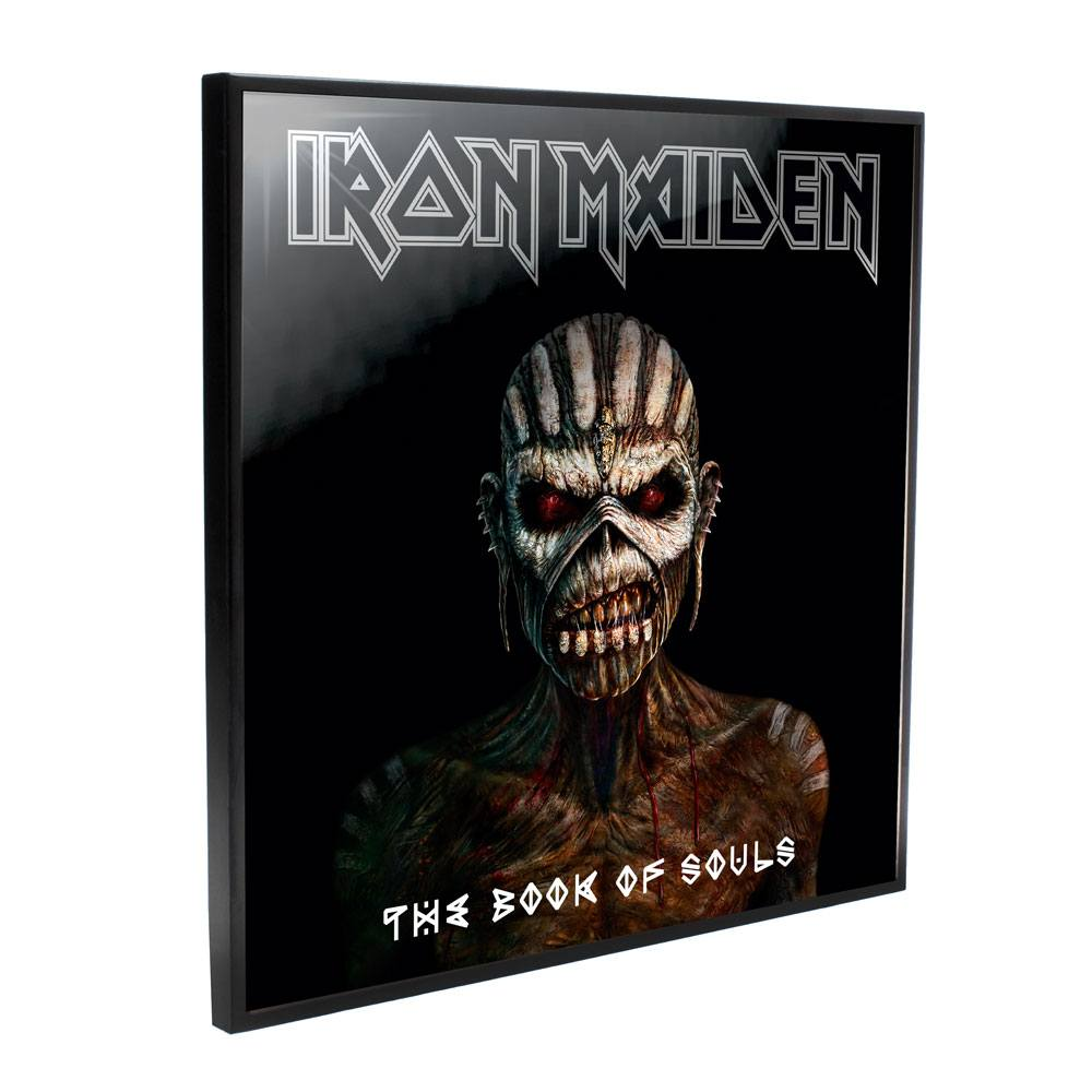 Iron Maiden Crystal Clear Picture Book of Souls 32 x 32 cm