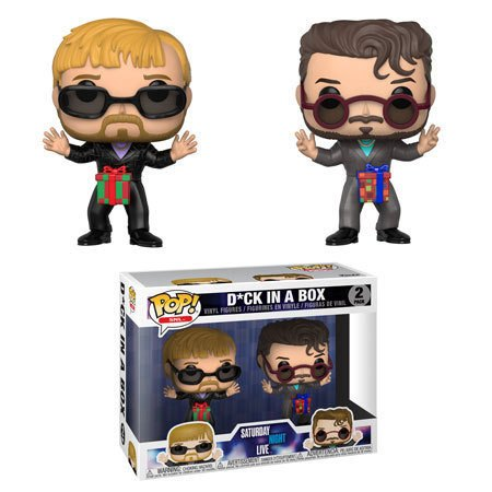 Saturday Night Live POP! TV Vinyl Figures 2-Pack Dick in a Box 9 cm