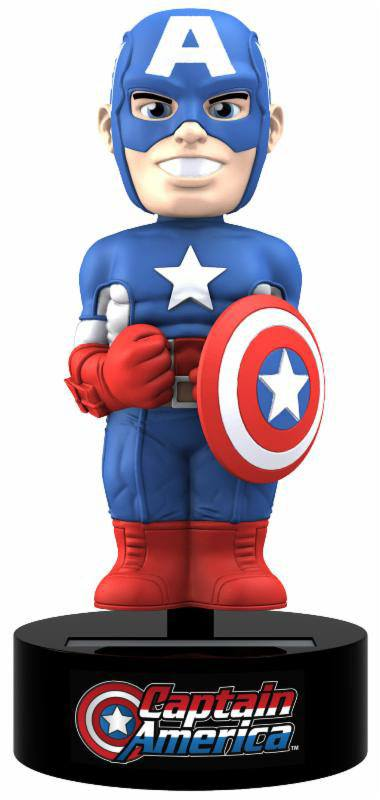 Marvel Comics Body Knocker Bobble-Figure Captain America 15 cm