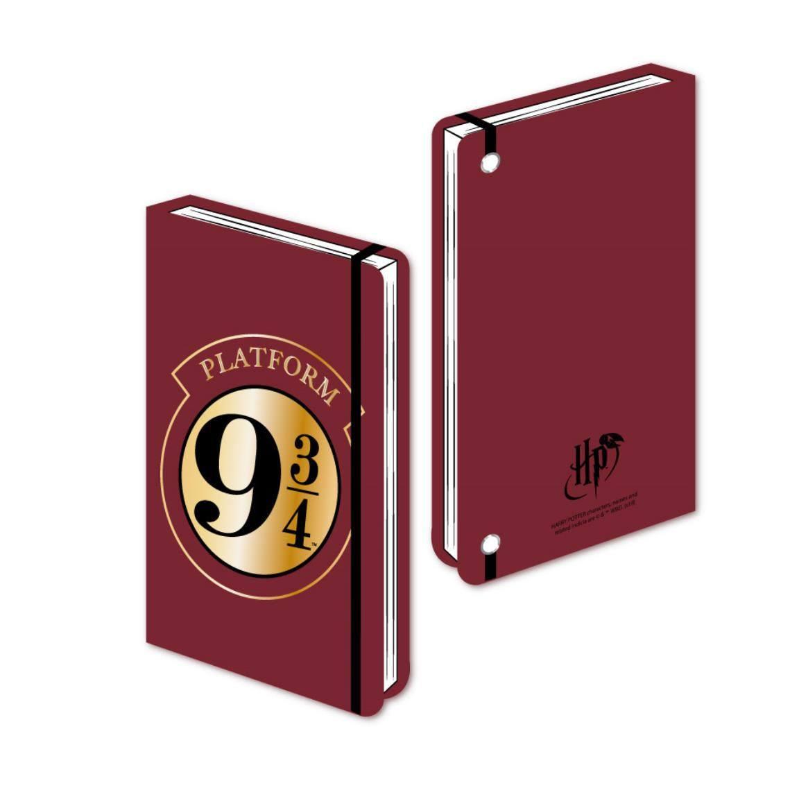 Harry Potter Premium Notebook A5 Platform 9 3/4