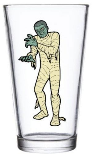 Universal Monsters Pint Glass The Mummy