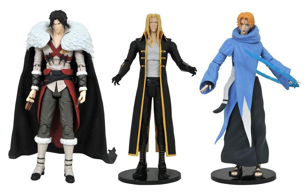 Castlevania Select Action Figures 18 cm Series 1 Assortment (6)