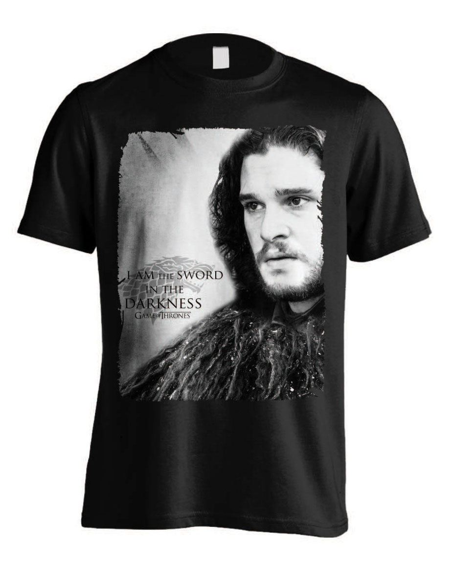 Game of Thrones T-Shirt Sword in Darkness Size XXL