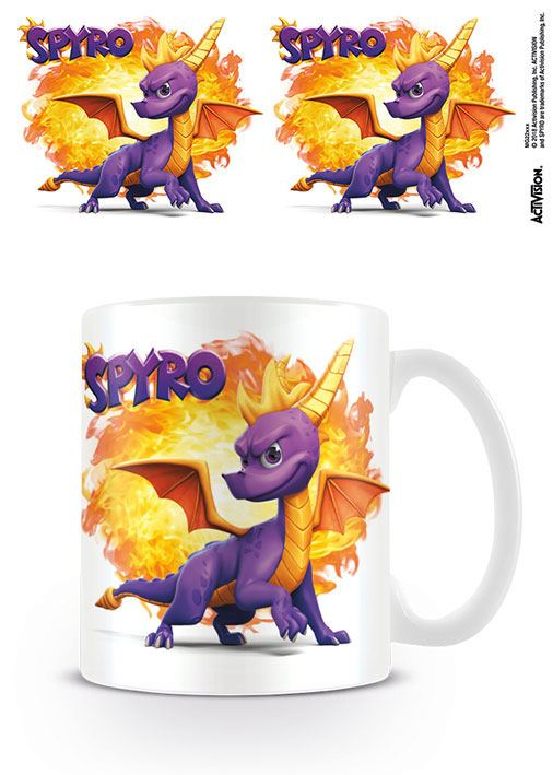 Spyro Mug Fireball