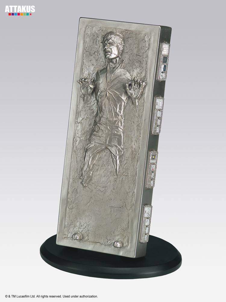 Star Wars Elite Collection Statue Han Solo in Carbonite 18 cm