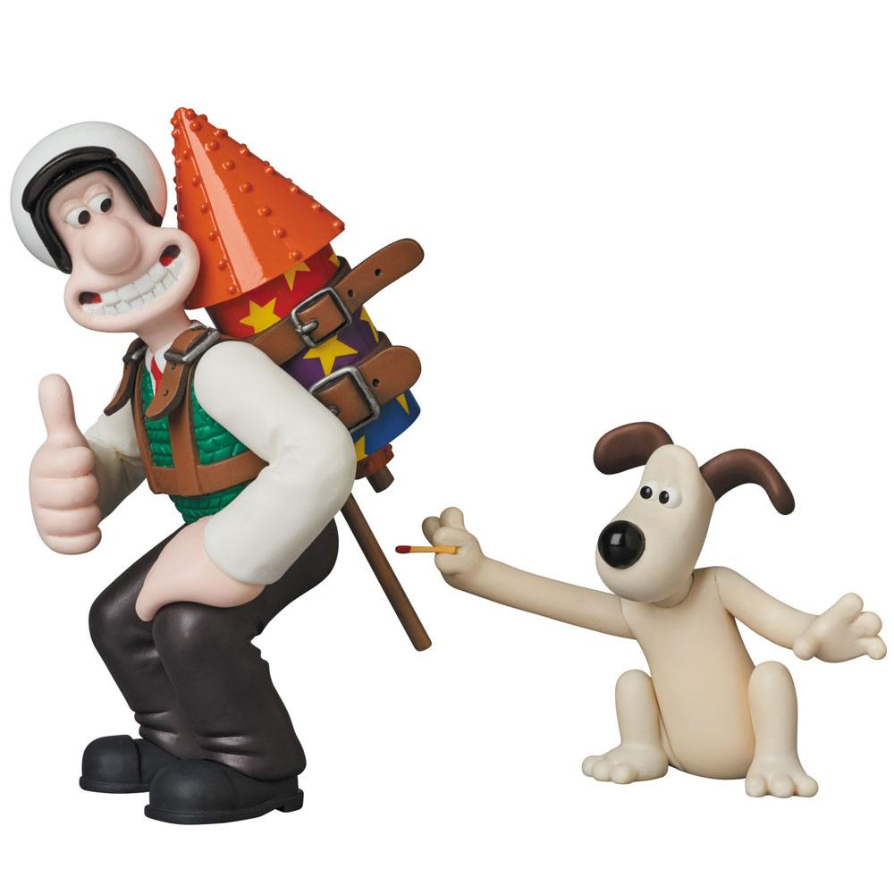Wallace & Gromit UDF Aardman Animation #2 Mini Figure 2-Pack Wallace & Gromit 7-11 cm