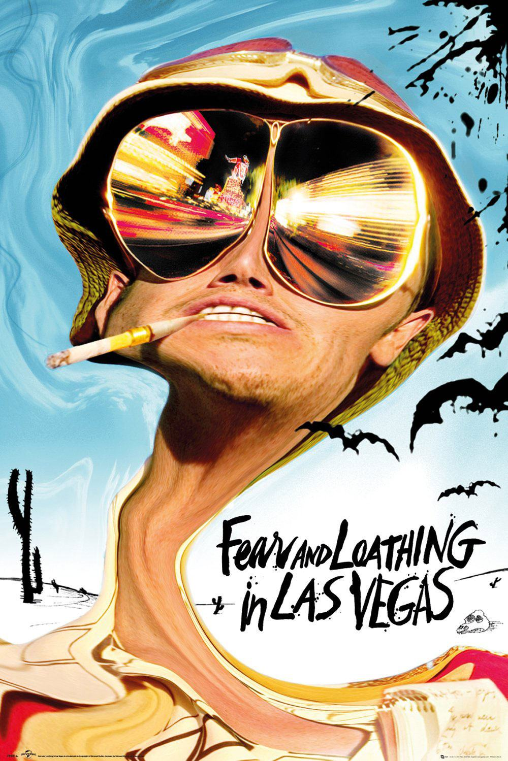 Fear and Loathing in Las Vegas Poster Pack Key Art 61 x 91 cm (5)