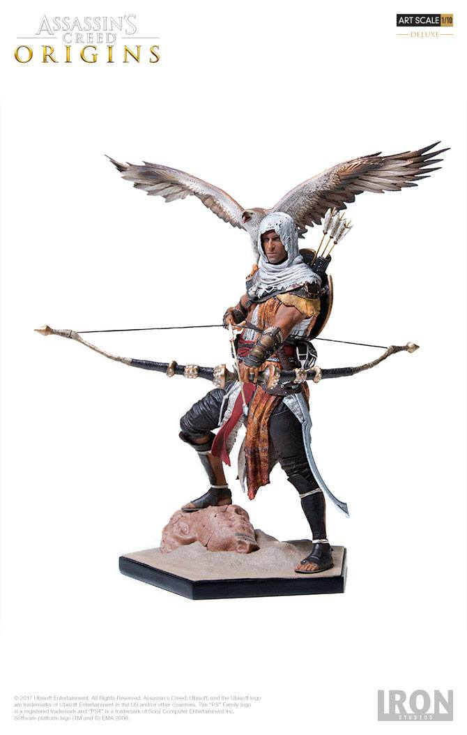 Assassin's Creed Origins Deluxe Art Scale Statue 1/10 Bayek 23 cm