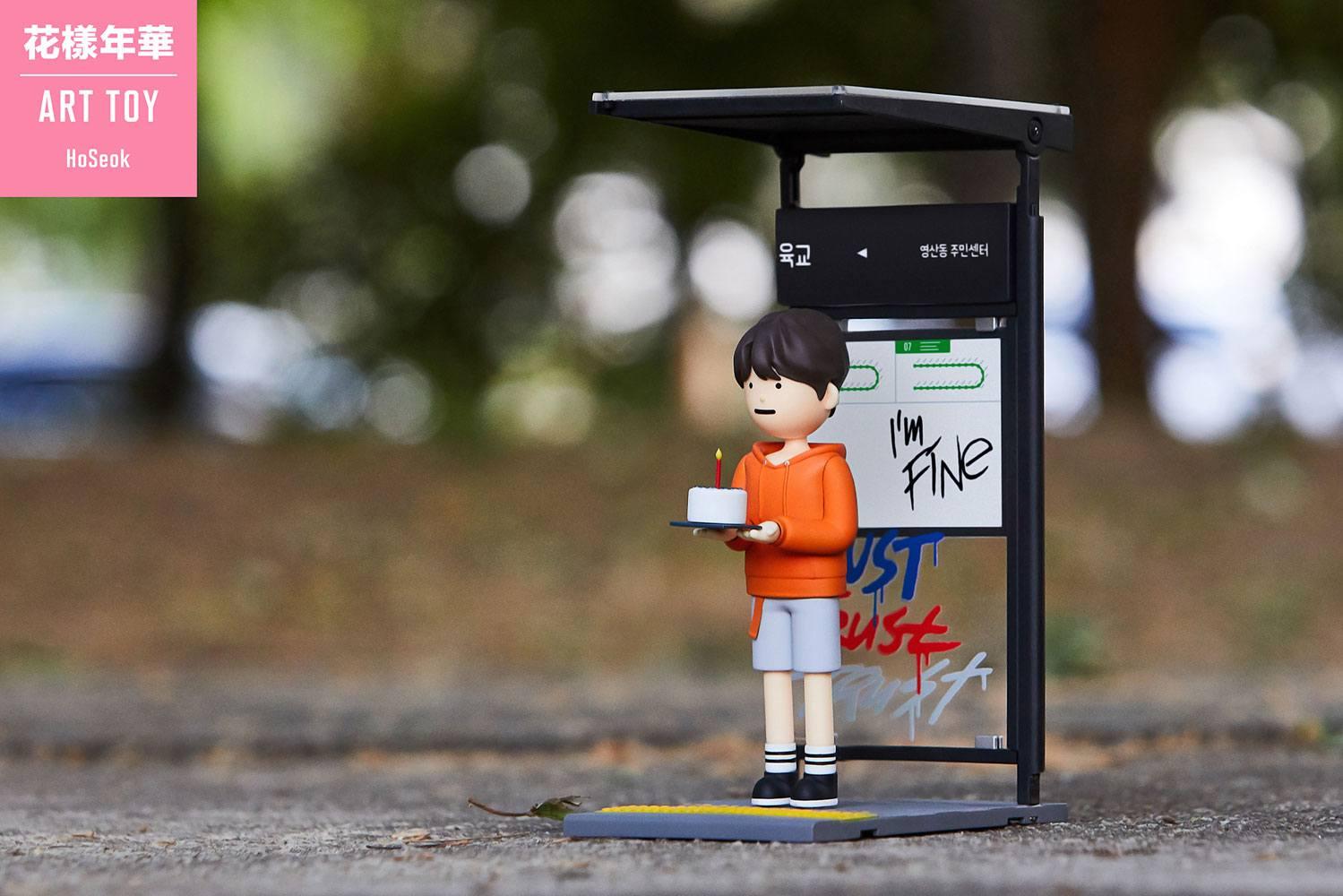 BTS Art Toy PVC Statue J-Hope (Jung Hoseok) 15 cm