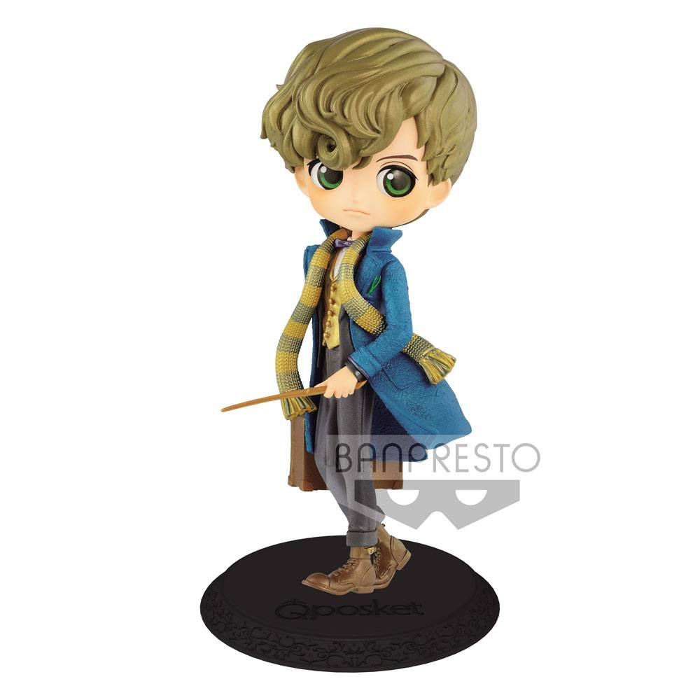 Fantastic Beasts 2 Q Posket Mini Figure Newt Scamander B Pearl Color Version 15 cm