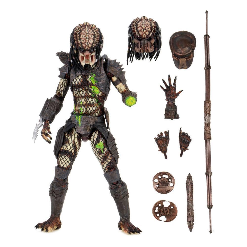 Predator 2 Action Figure Ultimate Battle-Damaged City Hunter 20 cm
