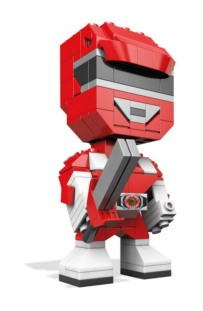 Power Rangers Mega Construx Kubros Construction Set Red Ranger 14 cm