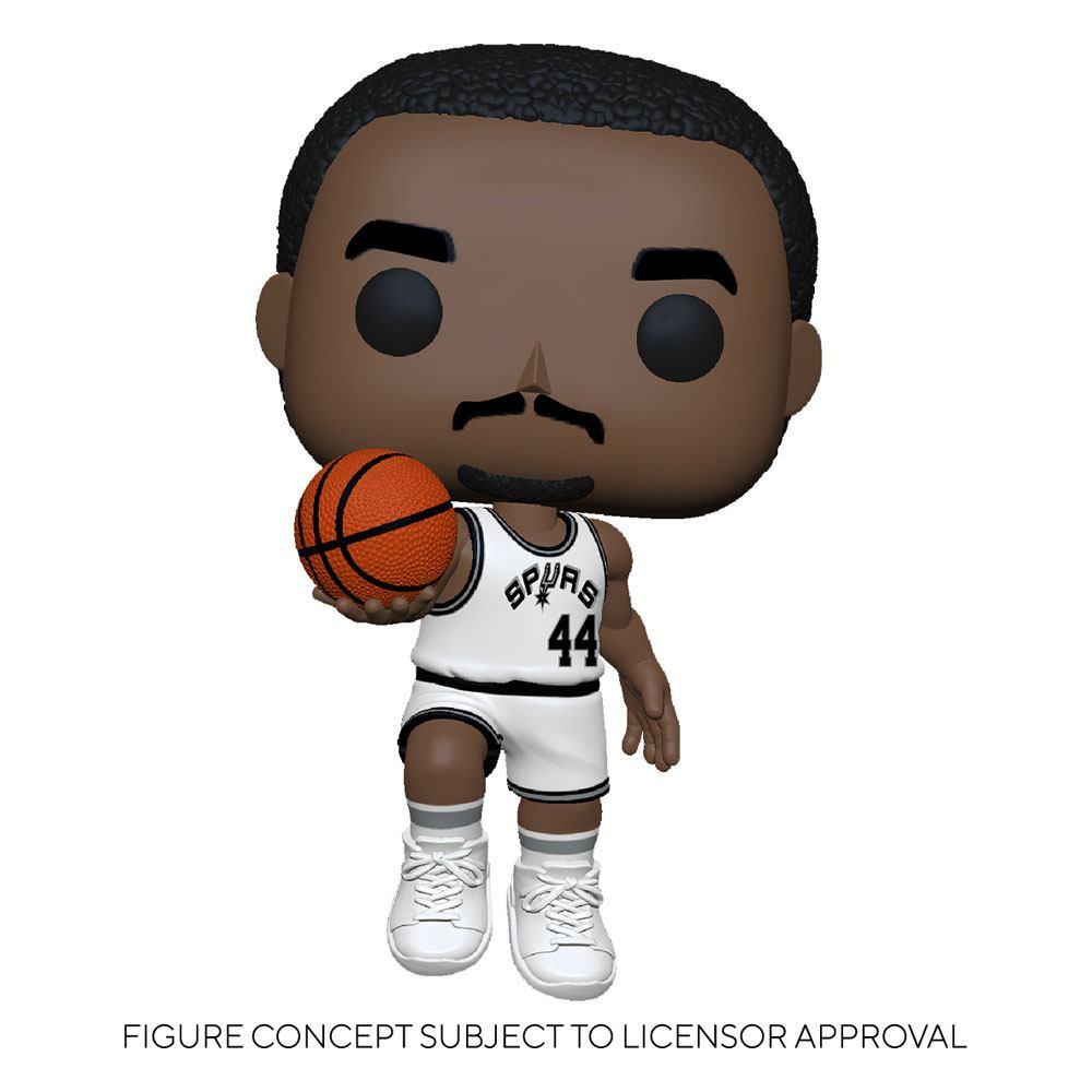 NBA Legends POP! Sports Vinyl Figure George Gervin (Spurs Home) 9 cm