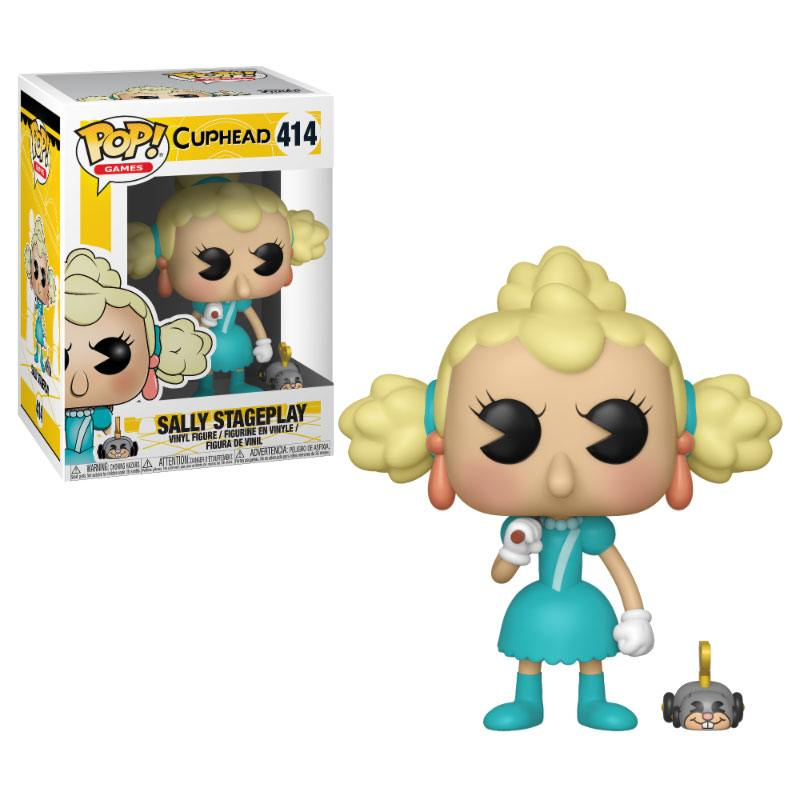 Cuphead POP! Games Vinyl Figure Sally Stageplay 9 cm