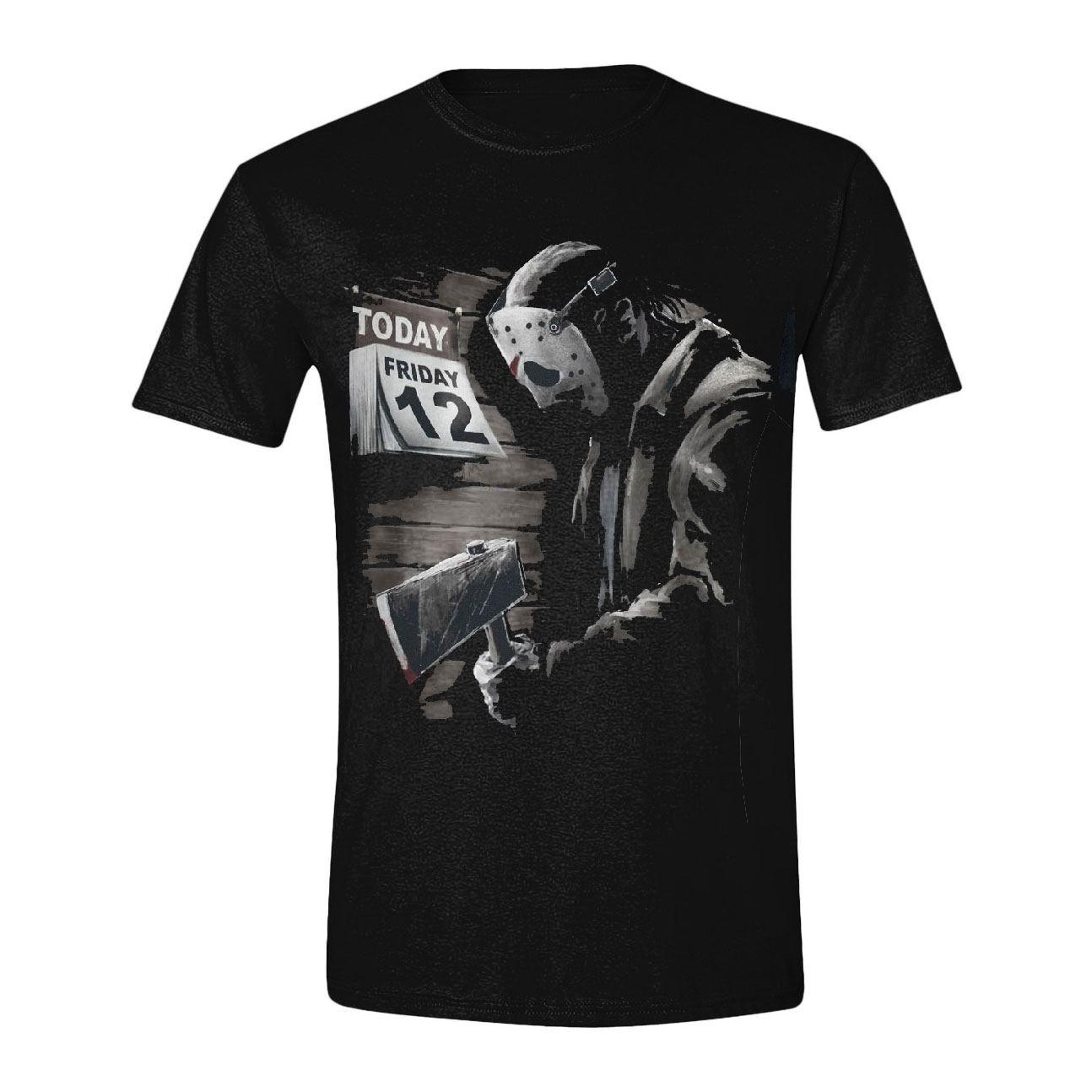 Freddy vs. Jason T-Shirt Friday 12th Sad Size S