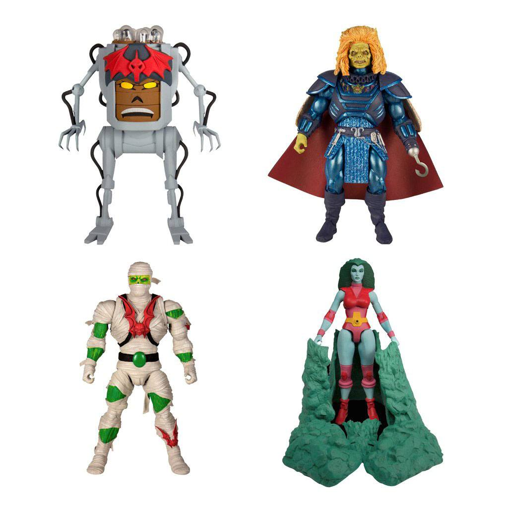 Masters of the Universe Classics Action Figures 18 cm Collector's Choice Wave 2 Assortment (4)