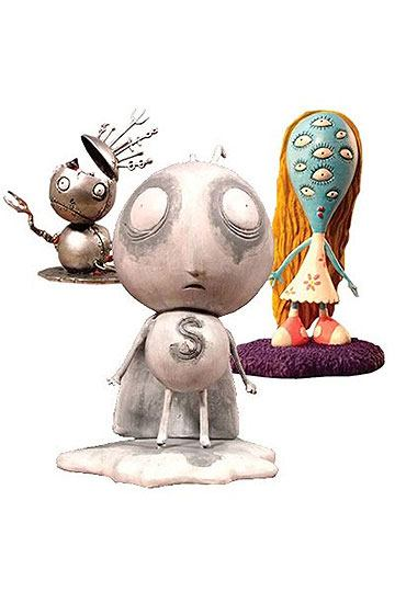 Tim Burton PVC Figure Set #1 Stain Boy 10 cm