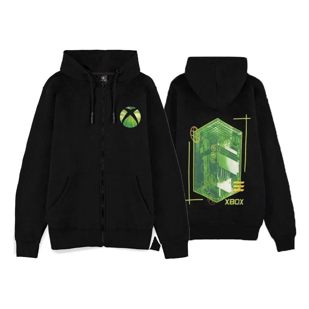 Microsoft Xbox Hooded Sweater Logo Size M