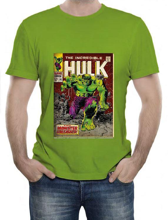 Marvel Comics T-Shirt Hulk Size M