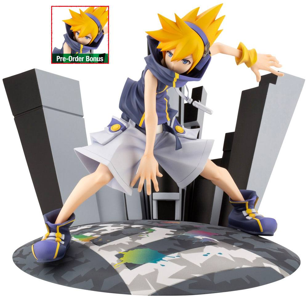 The World Ends with You The Animation ARTFXJ Statue 1/8 Neku Bonus Edition 17 cm