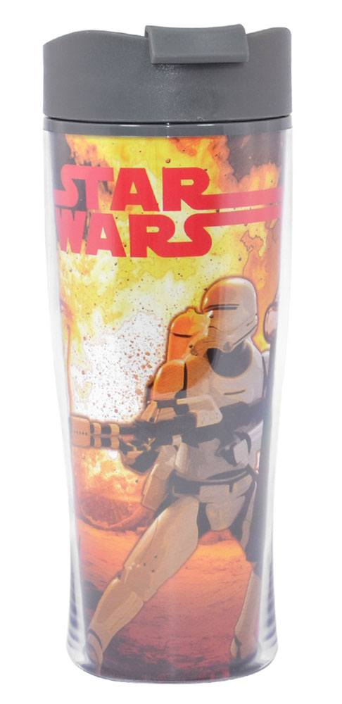 Star Wars Episode VII Thermo Cup Kylo Ren & Stormtrooper