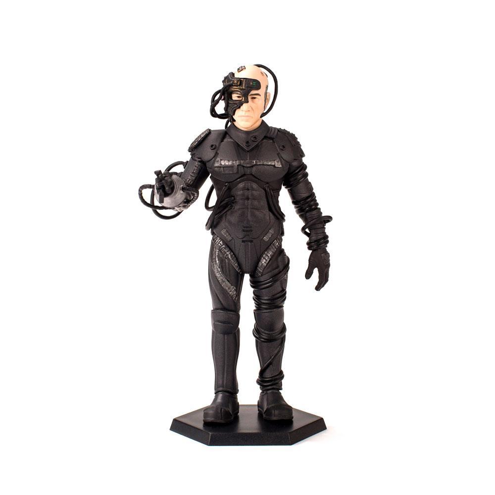 Star Trek TNG Mini Master Figure 1/12 Locutus of Borg Latinum Edition 15 cm