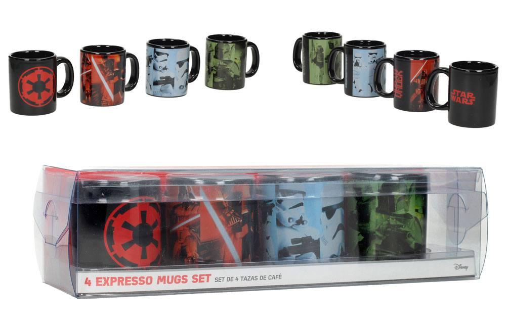 Star Wars Episode VIII Espresso Mugs Set Empire