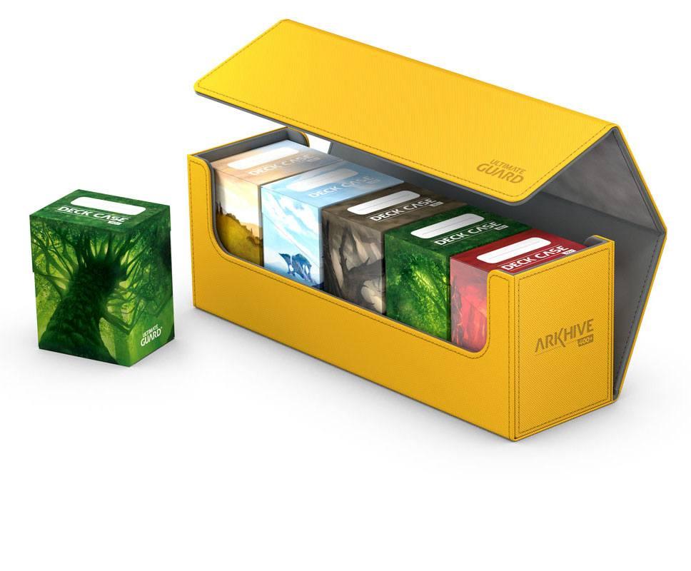 Ultimate Guard Arkhive 400+ Standard Size XenoSkin™ Amber