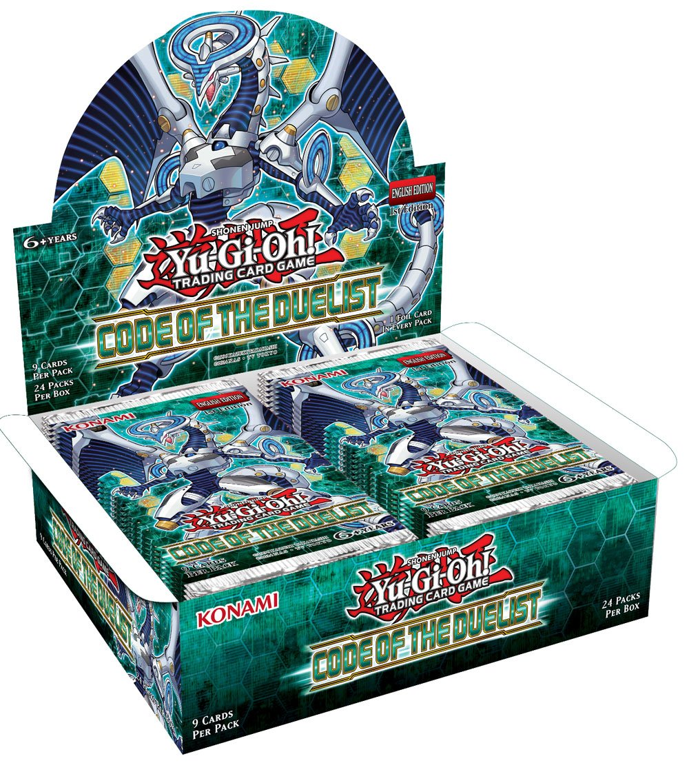 Yu-Gi-Oh! Code of the Duelist Booster Display (24) *English Version*