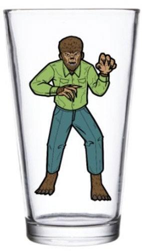 Universal Monsters Pint Glass Wolf Man
