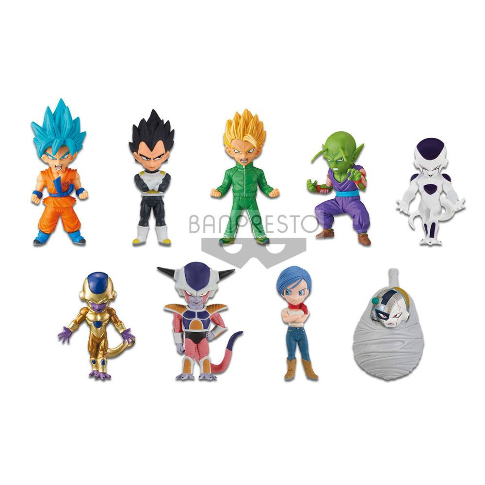 Dragonball Z WCF Figures 7 cm Assortment Mystery Box Edition Resurrection F (12)