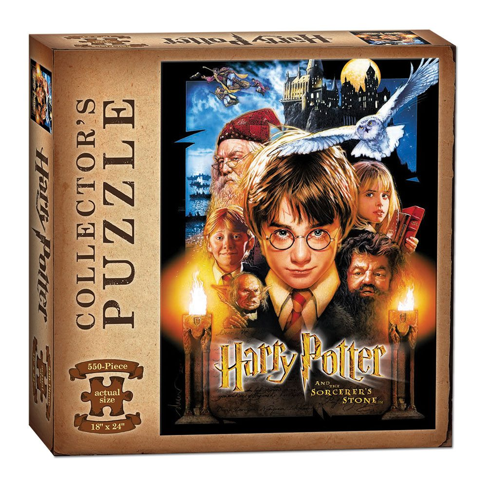 Harry Potter and the Sorcerer's Stone Collector's Jigsaw Puzzle Movie (550 pieces)