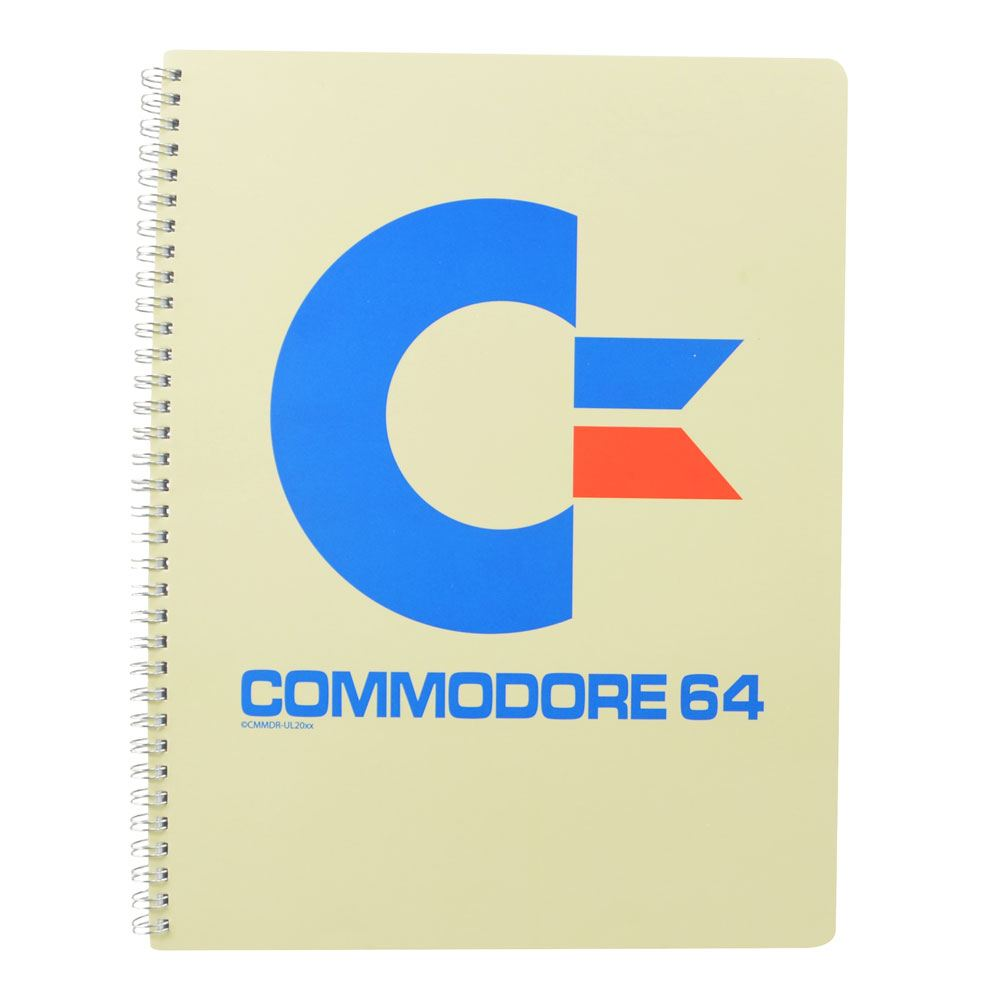 Commodore 64 Notepad A4 Logo