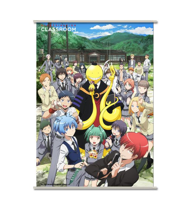 Assassination Classroom Wallscroll Koro & Students 90 x 60 cm