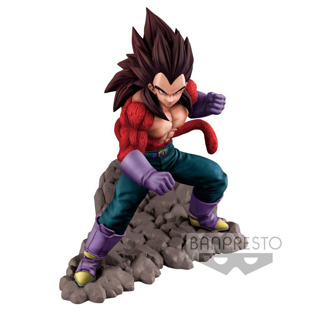 Dragonball GT Figure Super Saiyan 4 Vegeta 16 cm