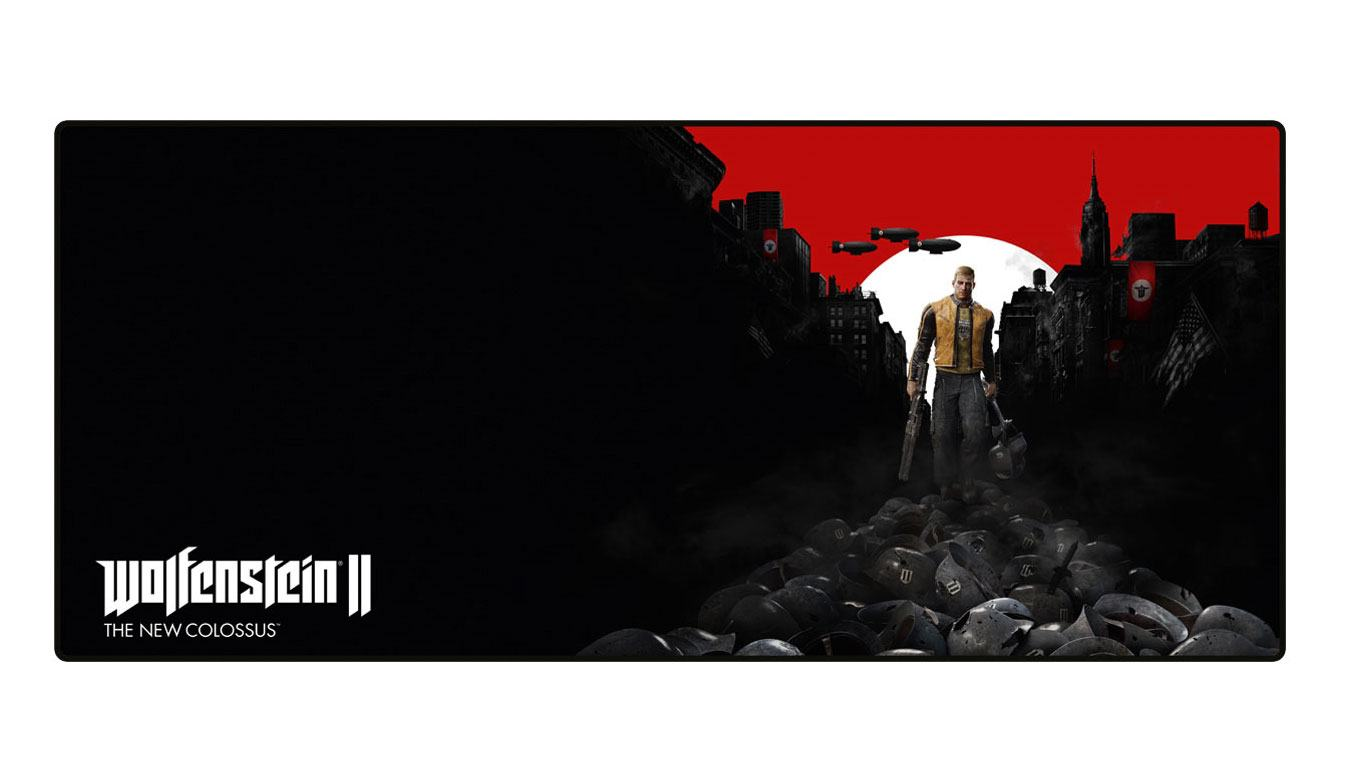 Wolfenstein II Oversize Mousepad Trail of the Dead